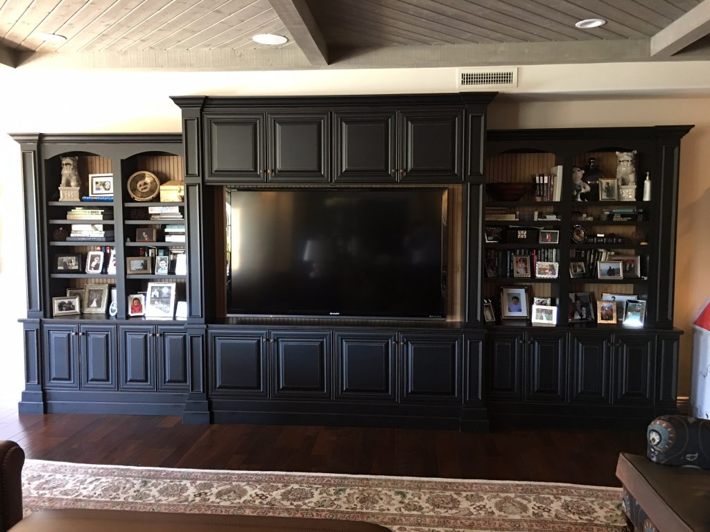 Custom Large Entertainment Center Phoenix