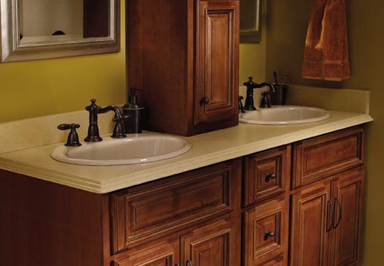 countertop cabinets for the bathroom custom countertops kitchen bathroom granite quartz 14126
