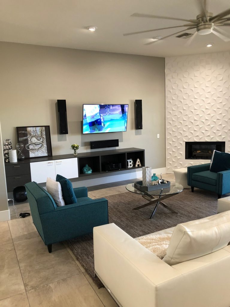 Awe Inspiring Custom Entertainment Centers Phoenix Built In Cabinets Download Free Architecture Designs Embacsunscenecom
